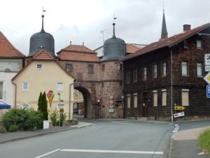 Das Stadttor zu Tann (Rhön) © Foto Kathi S./www.sport-mit-diabetes.de